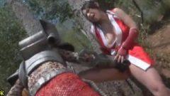 Mai Shiranui Gets Humiliation Attack