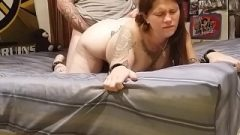 Brunette Abused And Then Used