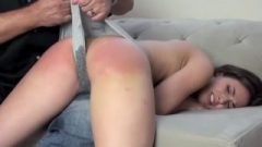 Wet Panty Spanking Humiliation For Casey Calvert