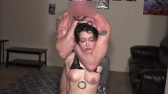 Face Slapping, Choking, Roughly Abused Throat Nailing Compilation
