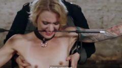 LETSDOEIT – German Feet Slaves Love Being Abused By Their Masters