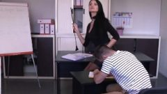 LETSDOEIT – Titillating Milf Teacher Ania Kinsky Asshole Abused At The Academie