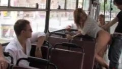 Seductive Blondie Gets Humiliated And Stuffed In Public