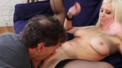 Cherry Torn Asshole Licking Blonde Sperm Drinking Rimming Rodney's Asshole