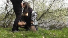 Hungry Wife Receives Gangbanged At Outdoor Dogging Spots