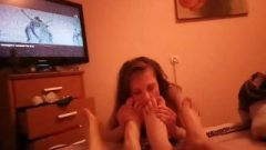 Most Brutal Threesome Wife Humiliation Ever