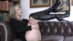 British Mistress In Boots Humiliation Jerk Off Instruction