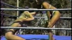 A Yummy Fair-haired Humiliated In The Ring