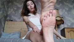 Russian Jerk Off Instruction & Feet Humiliation – Nina Yo