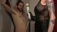 Servant Humiliated In Chastity