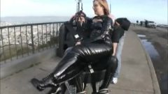 See San Francisco In Bondage Femdom Tourist Public Submission Mistress
