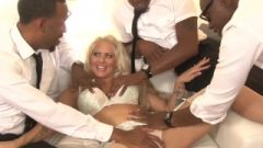 Holly Heart Picked Up And Fucked In Orgy By Bbcs