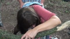 Slutwife Marion Group Fucked By Many Strangers At The Highway